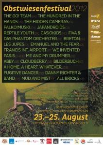 Obstwiesenfestival-Flyer
